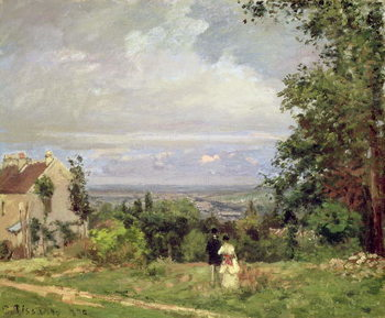 Louveciennes, 1870 Taidejuliste