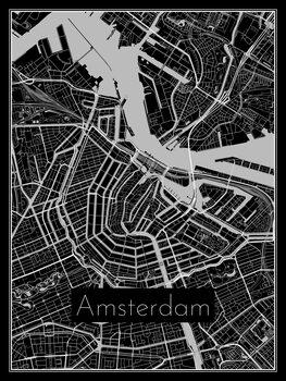 Kuva Map of Amsterdam