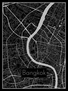 Kuva Map of Bangkok