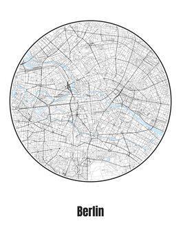 Kuva Map of Berlin