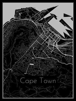 Kuva Map of Cape Town