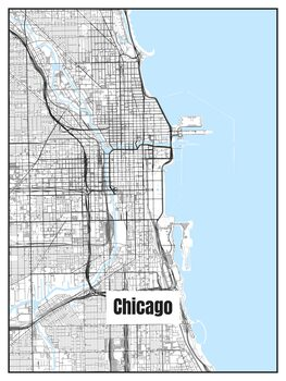 Kuva Map of Chicago