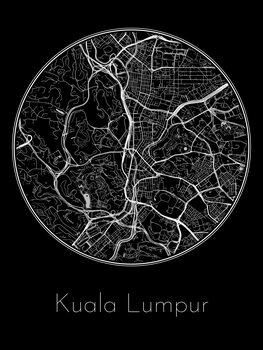Kuva Map of Kuala Lumpur