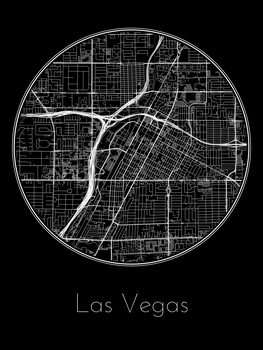Kuva Map of Las Vegas