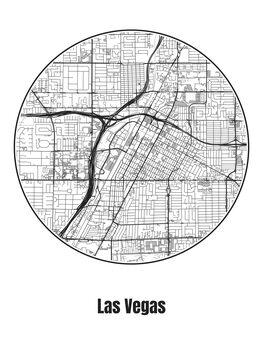 Kuva Map of Las Vegas