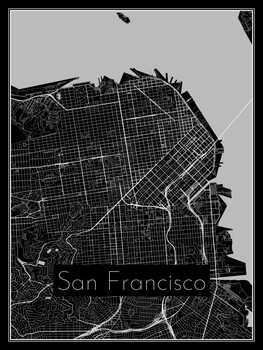 Kuva Map of San Francisco