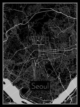 Kuva Map of Seoul