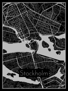 Kuva Map of Stockholm