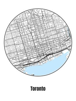 Kuva Map of Toronto