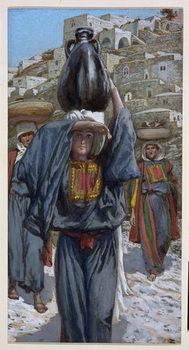 Martha, illustration for 'The Life of Christ', c.1886-94 Taidejuliste