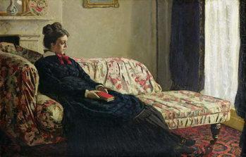 Meditation, or Madame Monet on the Sofa, c.1871 Taidejuliste