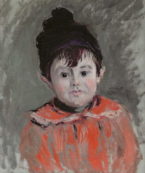 Michel Monet (1878-1966) Wearing a Bobble Hat, 1880 Taidejuliste