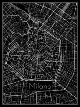 Kartta Milano