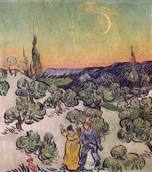 Moonlit Landscape, 1889 Taidejuliste