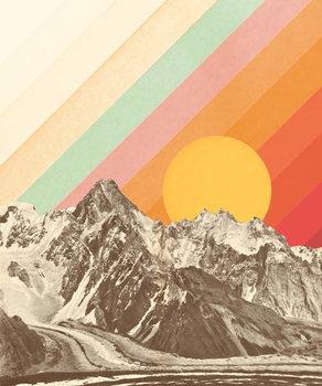 Mountainscape 1 Taidejuliste