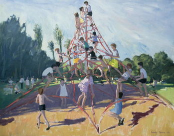 Mundy Playground, Markeaton;Derby, 1990 Taidejuliste