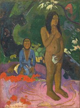 Parau na te Varua ino (Words of the Devil), 1892 Taidejuliste