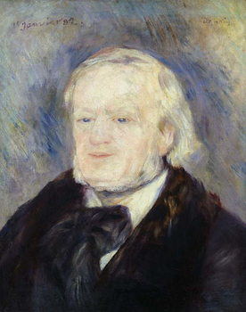 Portrait of Richard Wagner (1813-83) 1882 Taidejuliste