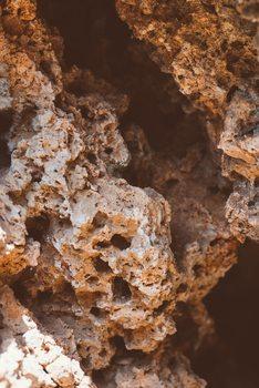Eksklusiiviset taidevalokuvat Red desert rocks