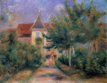 Renoir's house at Essoyes, 1906 , Taidejuliste