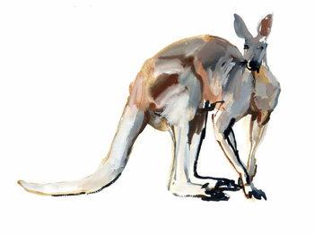 Roo, (Red Kangaroo), 2012, Taidejuliste