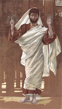 Saint Bartholomew, illustration for 'The Life of Christ', c.1886-94 Taidejuliste