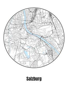 Kartta Salzburg
