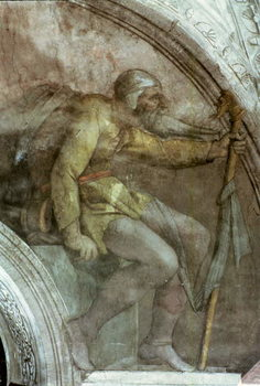 Sistine Chapel Ceiling: One of the Ancestors of God Taidejuliste