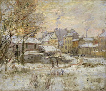 Snow Effect with Setting Sun, 1875 Taidejuliste