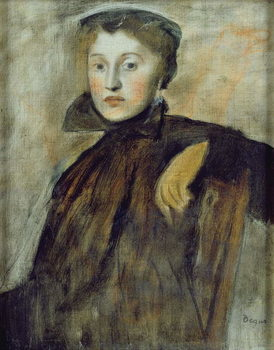 Study for a Portrait of a Lady, 1867 (oil on canvas) Taidejuliste