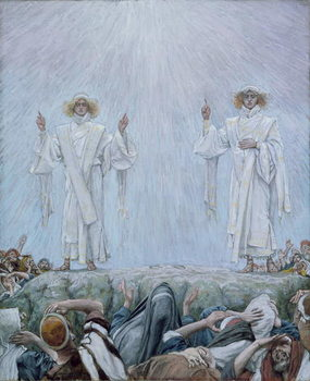 The Ascension, illustration for 'The Life of Christ', c.1884-96 Taidejuliste