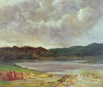 The Black Lake, 1872 Taidejuliste
