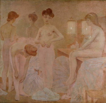 The Dancers, 1905-09 Taidejuliste