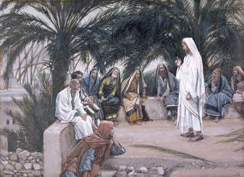 The First Shall Be the Last, illustration for 'The Life of Christ', c.1886-94 Taidejuliste