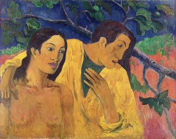 The Flight or Tahitian Idyll, 1902 Taidejuliste