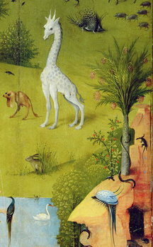 The Garden of Earthly Delights, 1490-1500 Taidejuliste