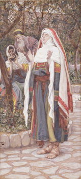 The Magnificat, illustration for 'The Life of Christ', c.1886-94 Taidejuliste