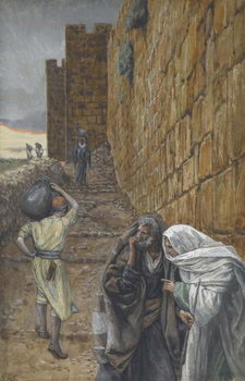 The man Bearing a Pitcher, illustration from 'The Life of Our Lord Jesus Christ', 1886-94 Taidejuliste