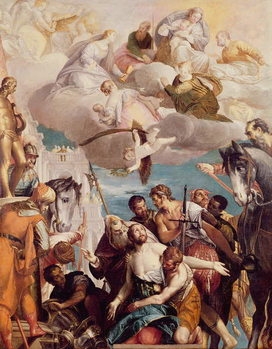 The Martyrdom of St. George Taidejuliste