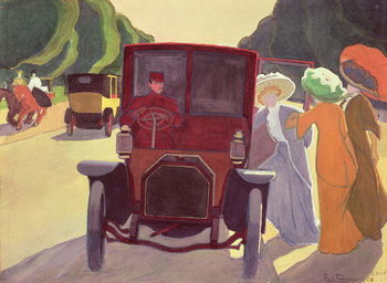The Road with Acacias, 1908 Taidejuliste