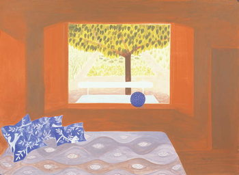 The Studio Window, 1987 Taidejuliste