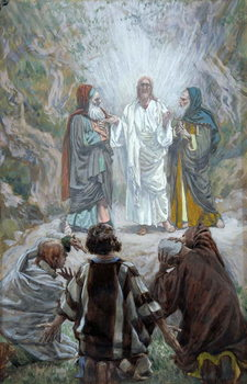 The Transfiguration, illustration for 'The Life of Christ', c.1886-94 Taidejuliste