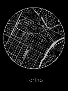 Kartta Torino