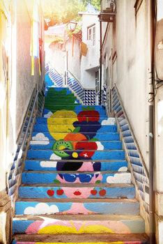 Eksklusiiviset taidevalokuvat Tropical Staircase