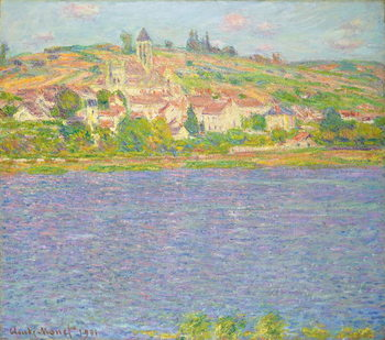 Vetheuil in the Sun; Vetheuil, effet de Soleil, 1901 Taidejuliste