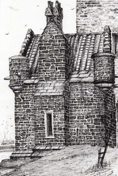 Wallace monument the small house, 2007, Taidejuliste