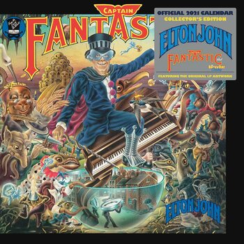 Calendar 2021 Elton John - Collector's Edition