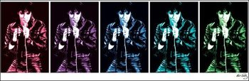 Elvis Presley - 68 Comeback Special Pop Art Reproduction d'art
