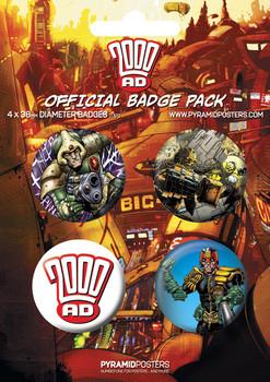 2000AD - Emblemas