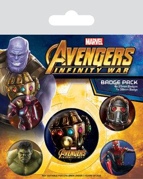 Avengers: Infinity War - Emblemas
